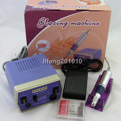 professional acrylic electric nail art drill machine with bit Manicure set DR288