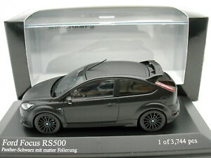 Minichamps-1-43-Ford-RS-Focus-RS500-2010-Negro-Mate-MIB