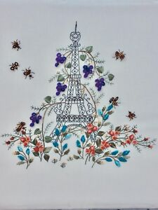an Advanced Brazilian Embroidery Pattern Love Birds Lili