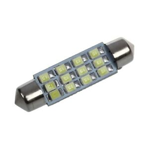 5PCS-42-mm-12-SMD-3528-LED-Blanco-coche-cupula-c5w-Interior-Festoon-Bombilla-Luz-Lampara-DC