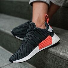 quality design 05605 4f9e6 Adidas NMD R2 Ivy Olive Green Grey White Pink Sneakers Shoes BA7260 Womens  Sz 11