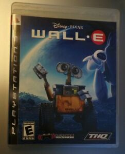 Wall E Playstation 3 Complete 752919990452 Ebay