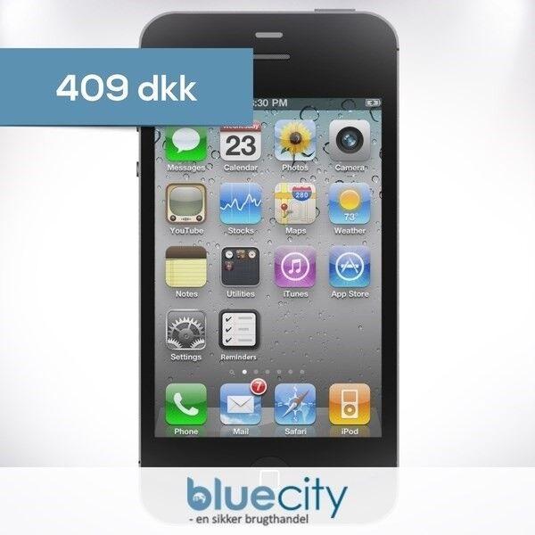 iPhone 4S, GB 16, sort