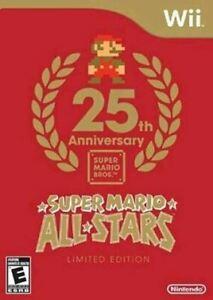 Complete Super Mario All-Stars Bundle - Nintendo Wii game Authentic