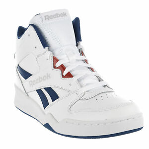 4442ca968f1 Reebok Men s BB4500 High-Top Basketball Shoe Blue Red White Memory ...