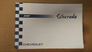 04 2004 chevrolet silverado owners manual ebay rh ebay com 2014 chevrolet silverado owners manual 2014 chevrolet silverado owners manual online