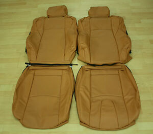 Nissan 350Z Leather Seat Covers 2003 2009 In Burnt Orange