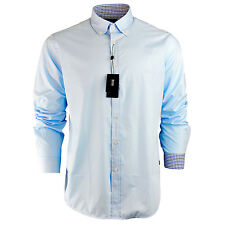 item 3 Men's Hugo Boss Plain Black Navy Sky White Shirt Long Sleeve Size S  M L XL XXL -Men's Hugo Boss Plain Black Navy Sky White Shirt Long Sleeve  Size ...