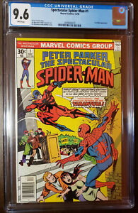 SPECTACULAR-SPIDER-MAN-1-TARENTULA-APP-WHITE-PAGES-CGC-9-6