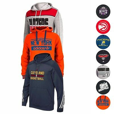 NBA Assortment of Team Color Hoodie Fleece Collection by MAJESTIC & ADIDAS Men's
