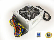 550W Watt Logisys ATX Power Supply 24 pin Dual SATA Quiet 120mm BB Fan 550W 462*