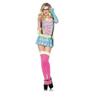 image is loading school girl costume adult sexy nerd halloween fancy