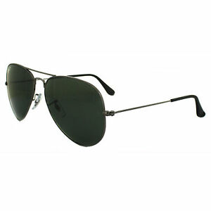 6b344d0bfd Ray-Ban RB3025 004 58mm Gunmetal Polarized Aviator Sunglasses for ...