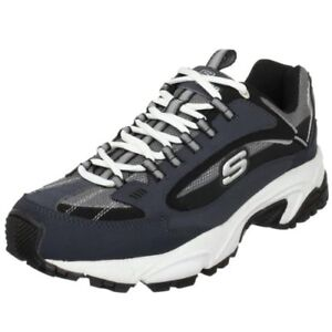 Skechers-50988-Sport-Mens-Stamina-Nuovo-Lace-Up-Sneaker-Choose-SZ-Color