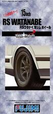 Fujimi TW30 1/24 RS WATANABE Wheel & Tire Set 15 inch from Japan Rare