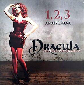 Anais-Delva-CD-Single-1-2-3-Dracula-L-039-Amour-Plus-Fort-Que-La-Mort-Promo