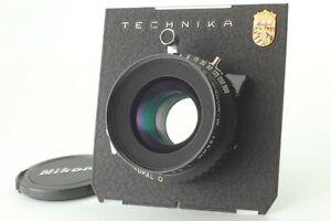 Neuwertiger-Nikon-Nikkor-W-135mm-f-5-6-S-Grossformat-Objektiv-Copal-0-Verschluss-aus-Japan