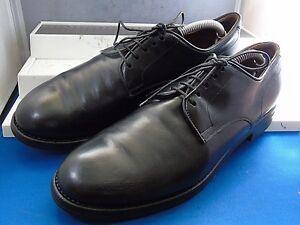 low priced 28f2b 348d1 Dettagli su FRANCESCHETTI-ITALIA Smart Black Plain Derby Formale Scarpe UK  8 EU 41 US 9- mostra il titolo originale