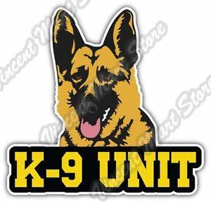 K 9 Unit Us Army Police Dog German Shepherd Car Bumper