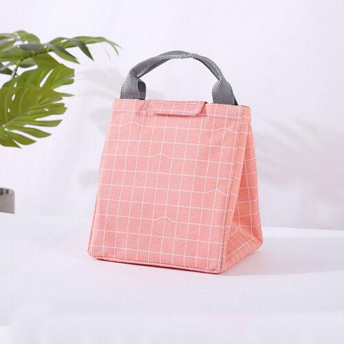 waterproof lunch bag for women kids men lunch bag canvas insulation portable