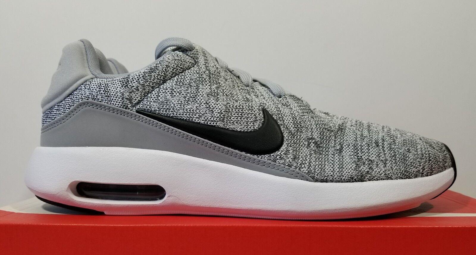 Nike air max moderna flyknit Uomo scarpe croce lupo grigio formazione scarpe Uomo taglia 10 80db03
