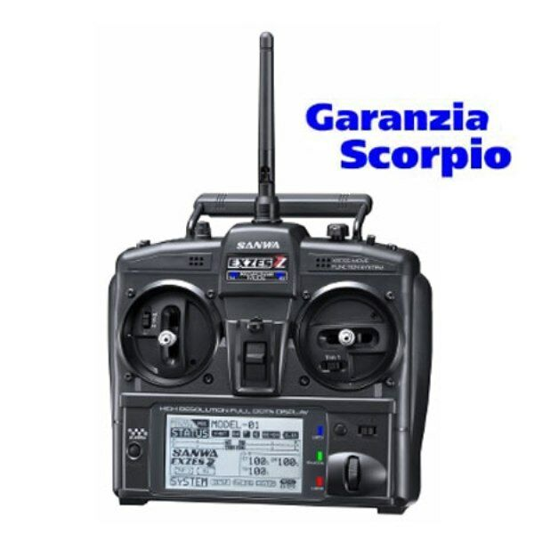 RADIO SANWA CAR EXZES ZZ 2,4G FSSH-4T 4CH