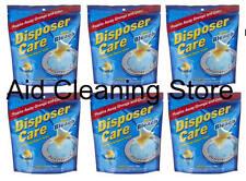 Pack De 6 disposer de cuidado de la eliminación de residuos limpiador de espuma Grunge y el olor 4 X 35g