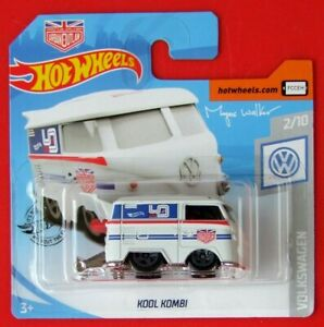 HOT-WHEELS-2019-VOLKSWAGEN-Kool-STATION-WAGON-136-250-neu-amp-ovp