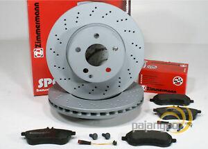Porsche Macan [95B] - Zimmermann Sport Bremsscheiben Bremsbeläge vorne