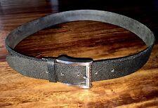 Men's Cole Haan Casual Black Leather Belt Size 36