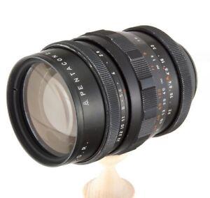 Pentacon-135mm-f2-8-M42-MF-camera-lens-S1-FX-dSLR-Nikon-Canon