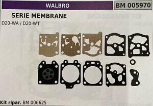 Kit membrane WALBRO D10-HD Origine