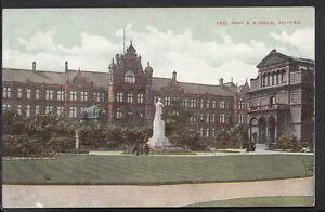 Lancashire-Postcard-Peel-Park-amp-Museum-Salford-RS2516