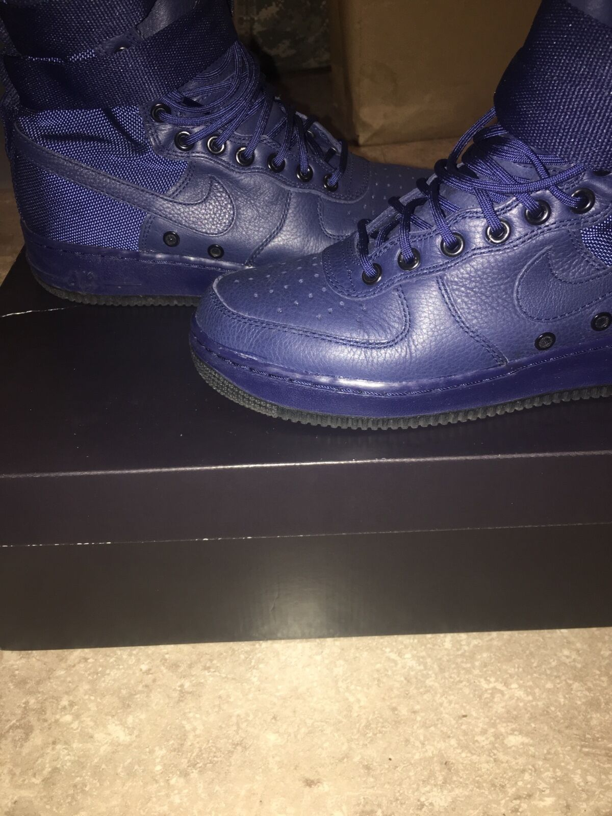 Women's Navy Special Air Force 1s size 9