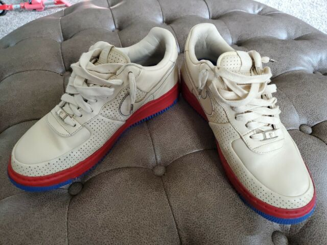 Nike Air Force 1 XXV Supreme Philly Stadium Men Size 9 Sneakers 316077 221