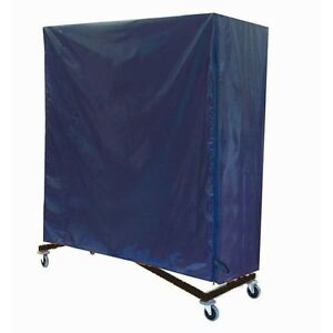 Blue Nylon Cover For Z Rack Heavy Duty Rolling Clothing