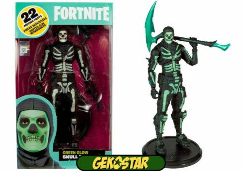 Cráneo Trooper-brillo en la oscuridad fortnite Figura De Acción