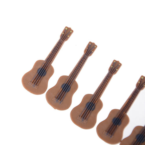 1:12//1:24 Dollhouse Miniature Music Instrument Classical Guitar Home Decor BSCA