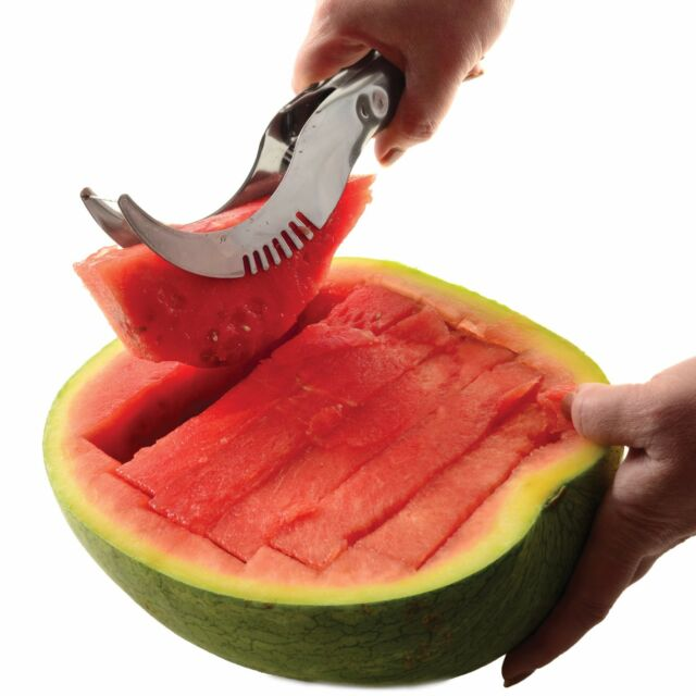 Norpro 5151 Watermelon Slicer Server Knife Cutter Corer Scoop
