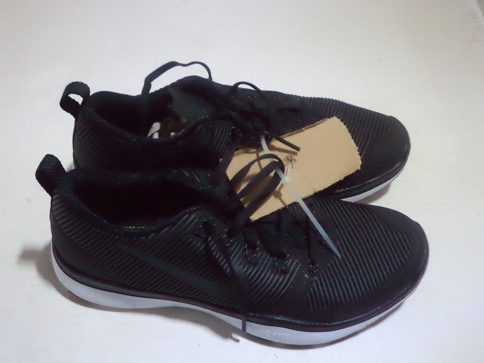 Nike Nike Nike männer freie bahn vielseitigkeit sportliche schuhe in größe 10 farbe schwarz - weiß bc7d8e