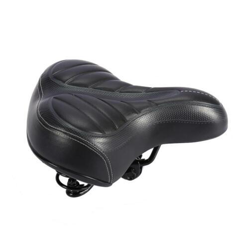 Wide Big Bum Bike Bicycle Gel Cruiser Extra Sporty Soft Pad Comfort Saddle Seat