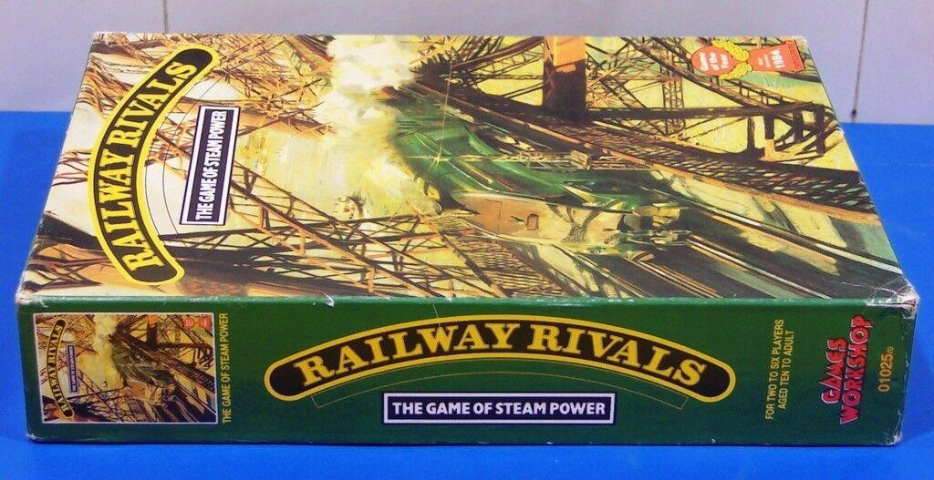 JuegoS WORKSHOP'S RAILWAY RIVALS USED Juego BOX