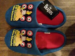 Beatles-Yellow-Submarine-Mens-Mule-Slippers-pantoffels-New-with-label