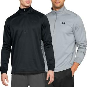 Under-Armour-UA-Armour-Fleece-Half-Zip-Sweathsirt-Hoody-Pullover-Pulli