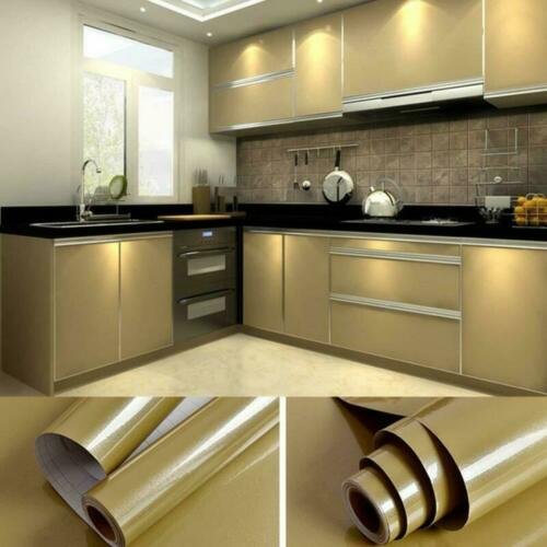 Contact Paper Self Adhesive Vinyl Film PVC Back Sticky Wallpaper Durable Kitchen