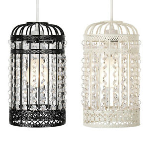 Vintage style metal bird cage ceiling light birdcage lamp shades vintage style metal bird cage ceiling light birdcage aloadofball Image collections