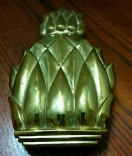Harvin Virginia Metal Crafters Solid Brass Pineapple Door Knocker 4022 Newport