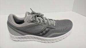 Saucony Kinvara 11 Running Shoes, Grey, Men's 8.5 M
