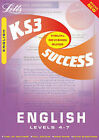 Key Stage 3 English: Levels 4-7 by Letts Educational (Paperback, 2001)