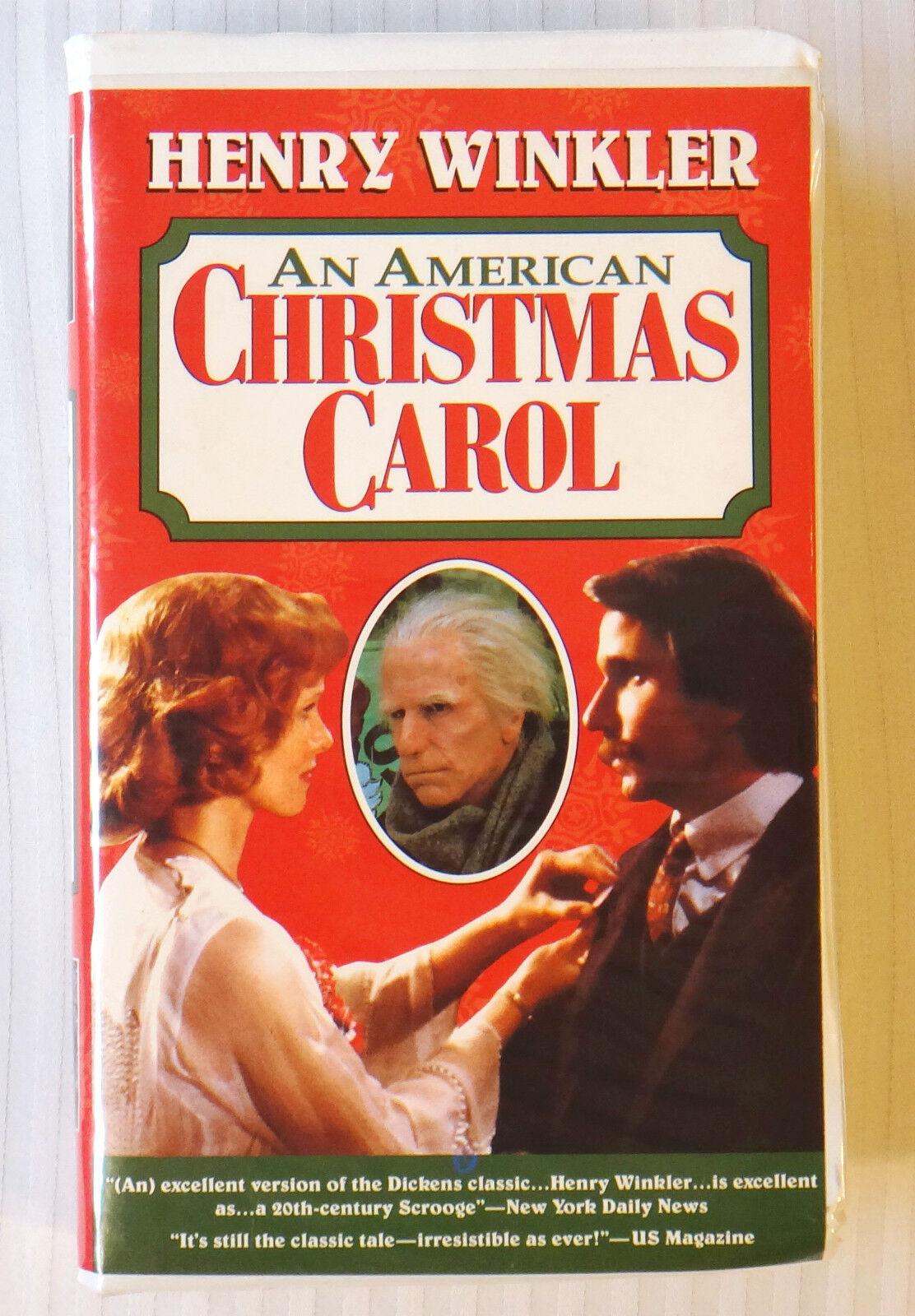 an american christmas carol vhs henry winkler clamshell case 1995 ebay